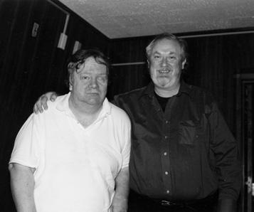 Jackson C. Frank & John Renbourn 1999. (c) by Jim Abbott